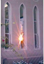 Luz en el Oratorio de Adoración Eucarística