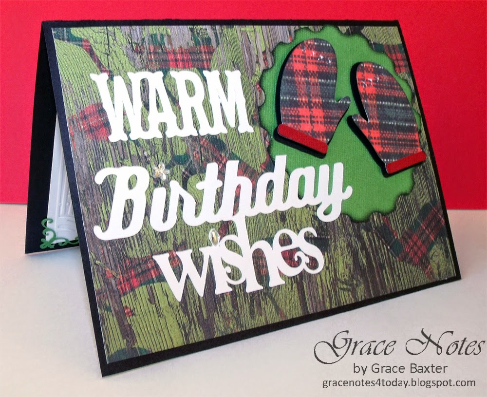 Warm Birthday Wishes masculine birthday card