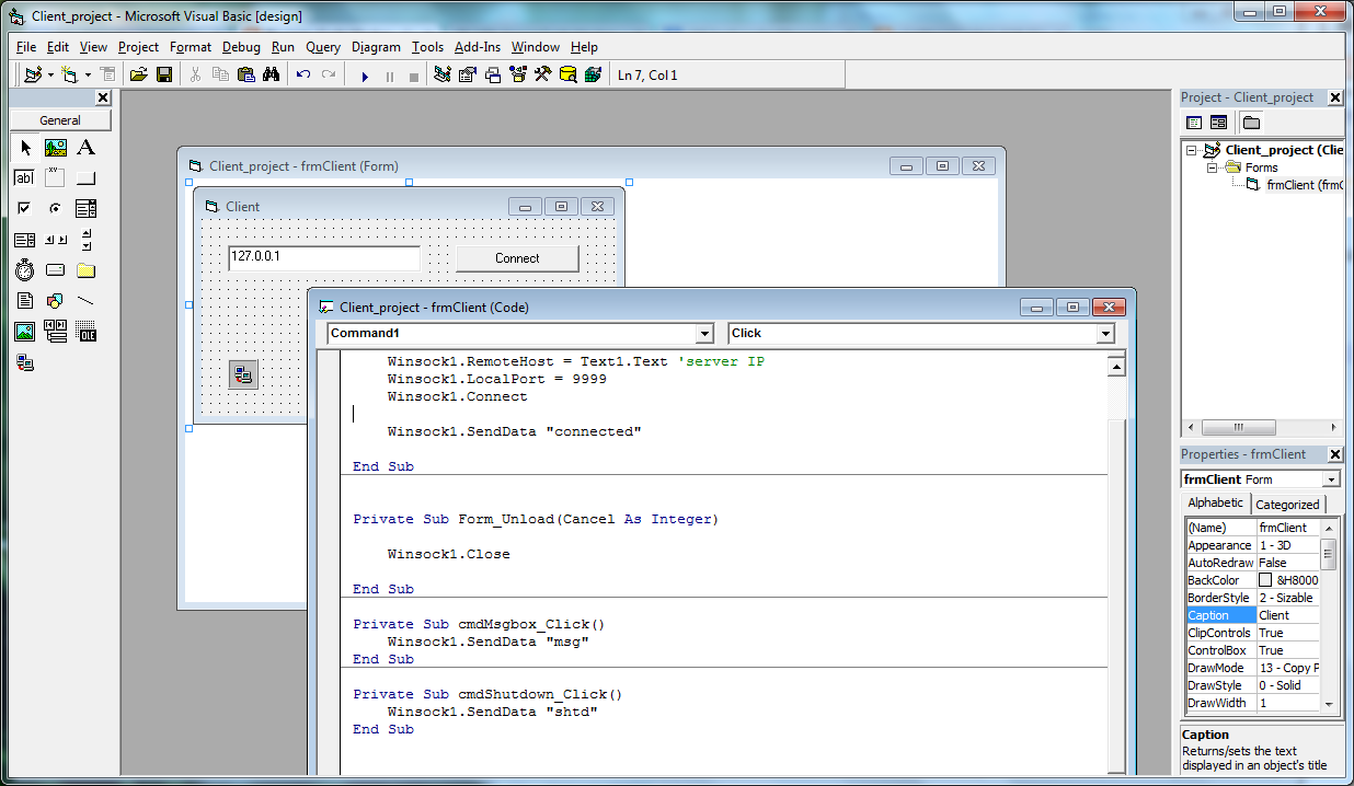 vb6 basic trojan source code