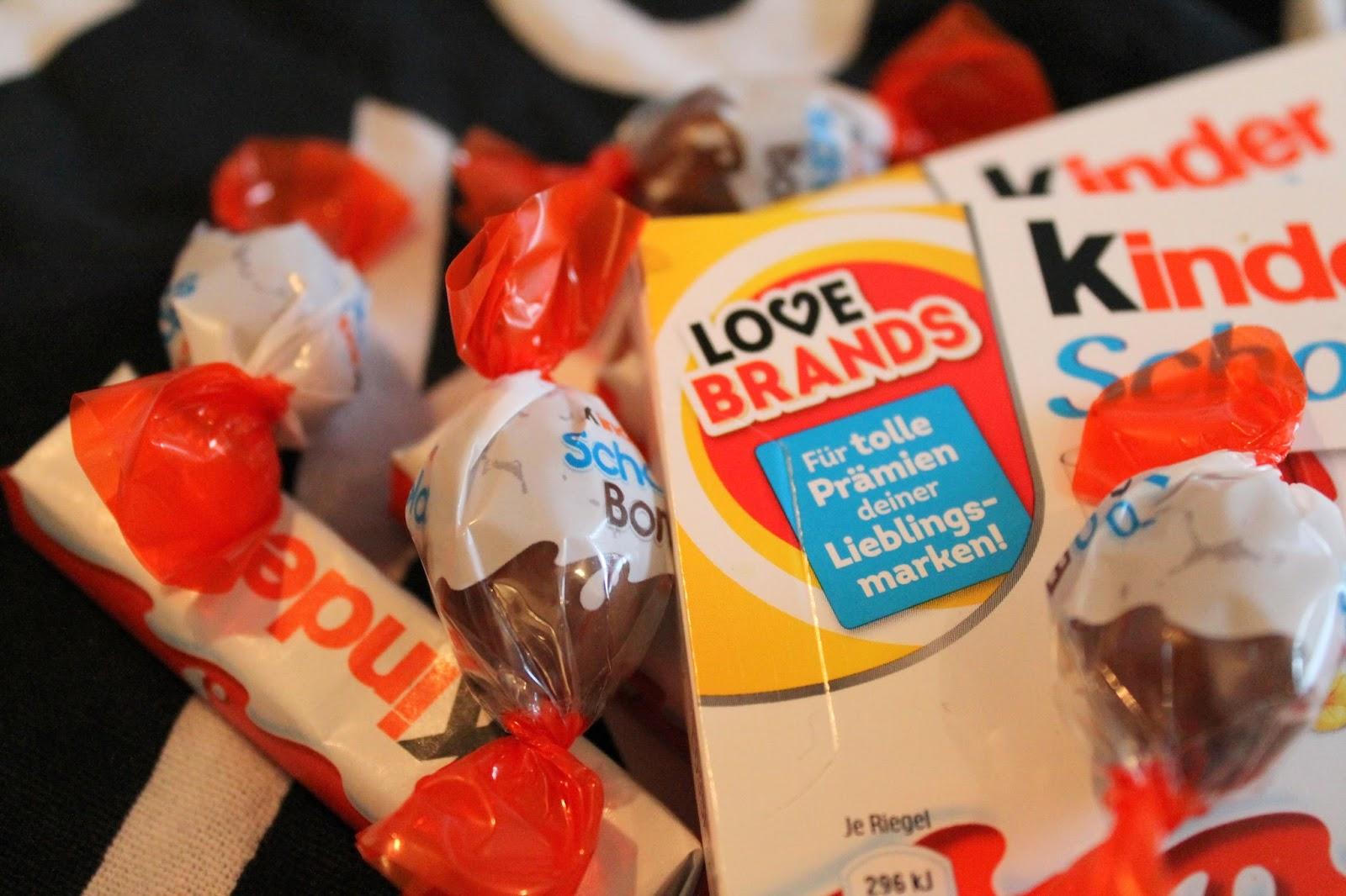 Ferrero Lovebrands Kinderschokolade Schoko-Bons