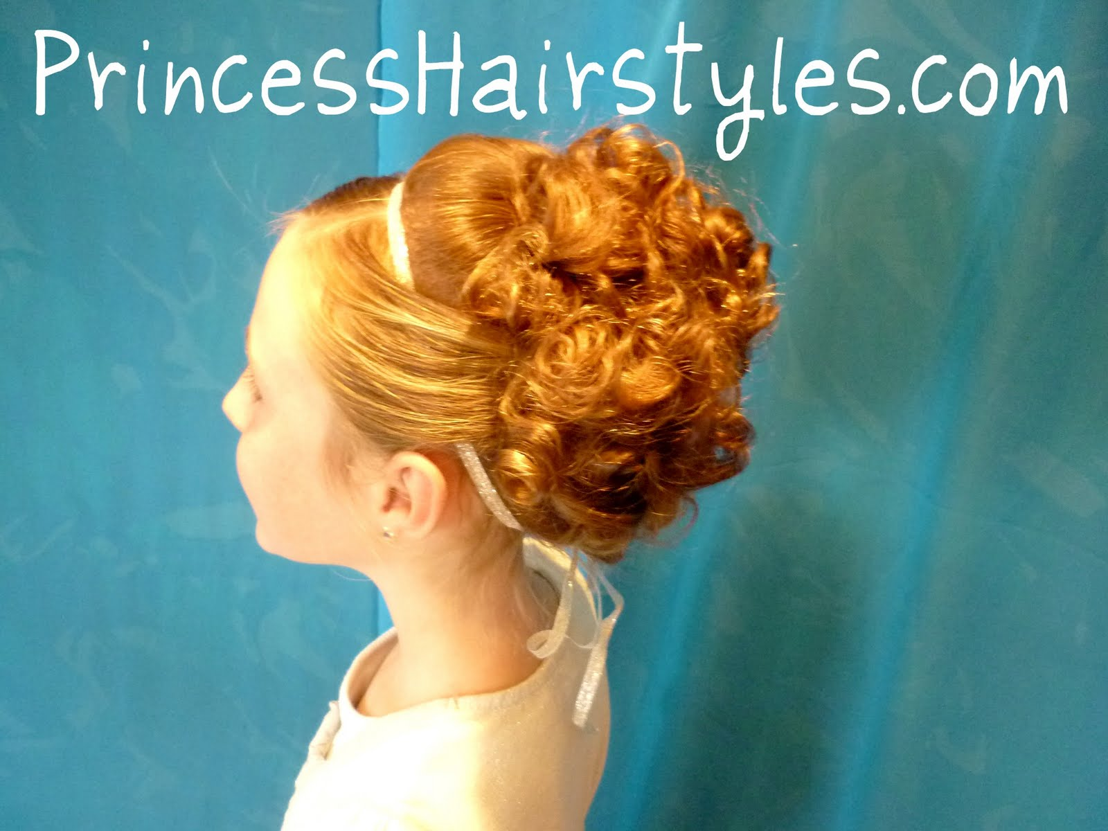 Holiday updo hairstyle hairstyles for girls princess hairstyles holiday updo hairstyle pmusecretfo Images