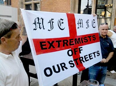 The EDL at Tower Hamlets #1