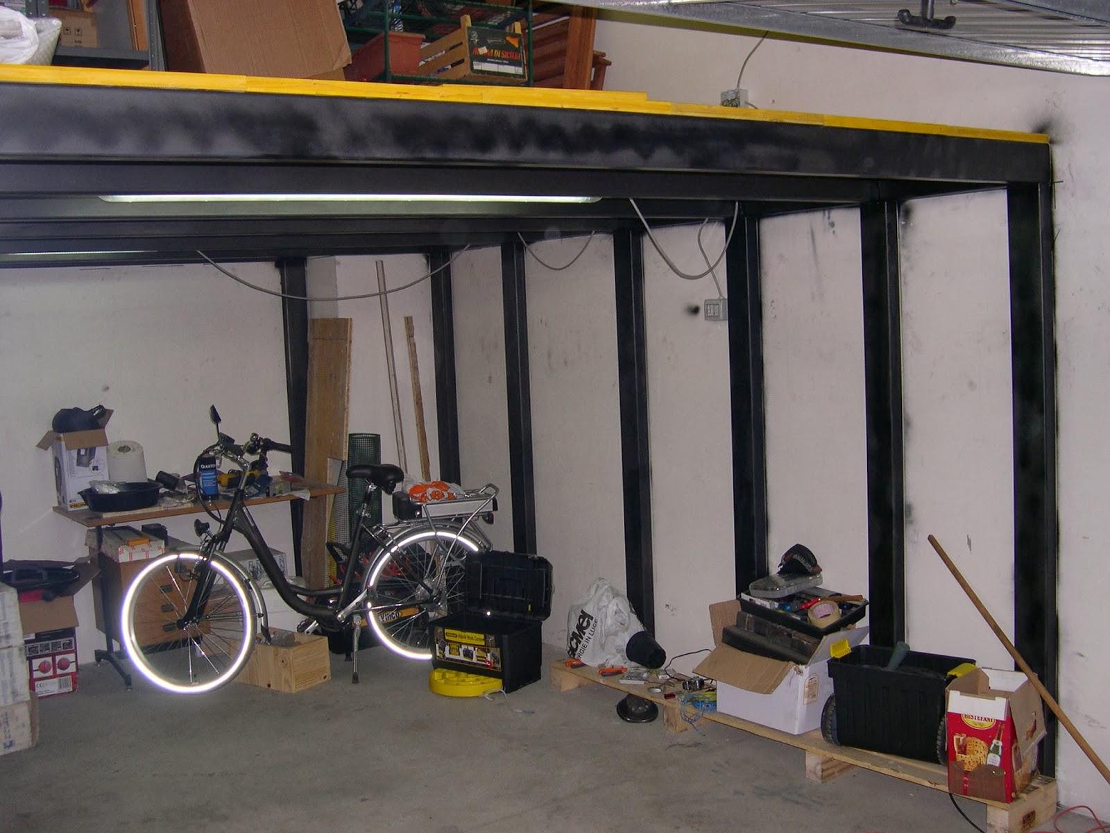 Lavori e lavoretti soppalco fai da te in solitaria for Costo per costruire un garage per auto