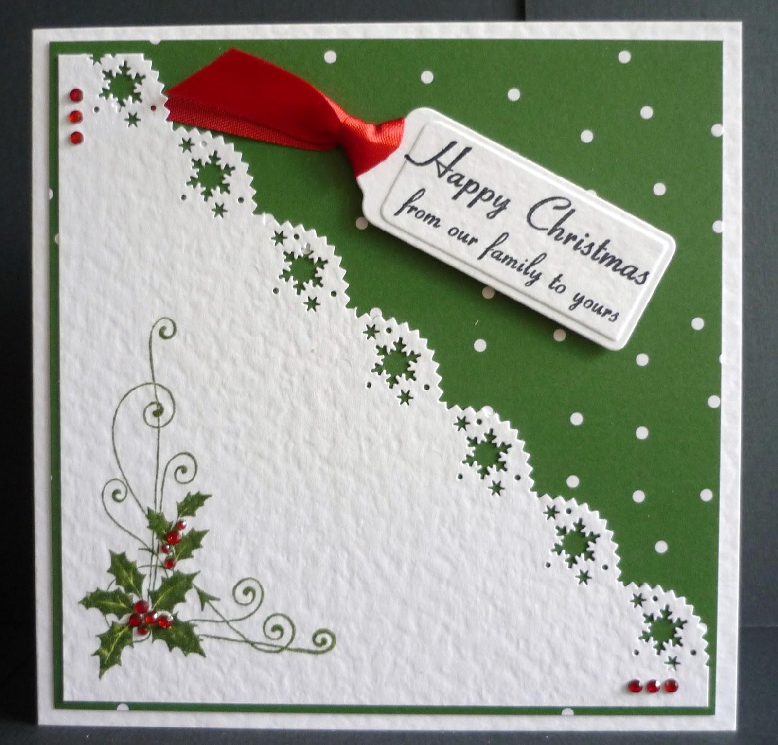 Glitterartird creations by barbara daines more card creations by barbara daines more simple christmas cards kristyandbryce Gallery