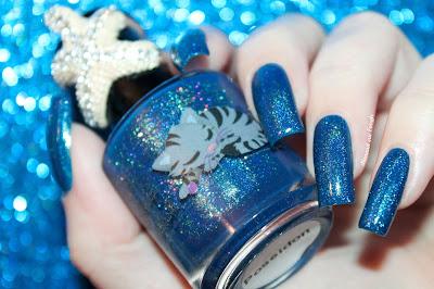 "Swatch of the nail polish ""Poseidon"" by Eat Sleep Polish"