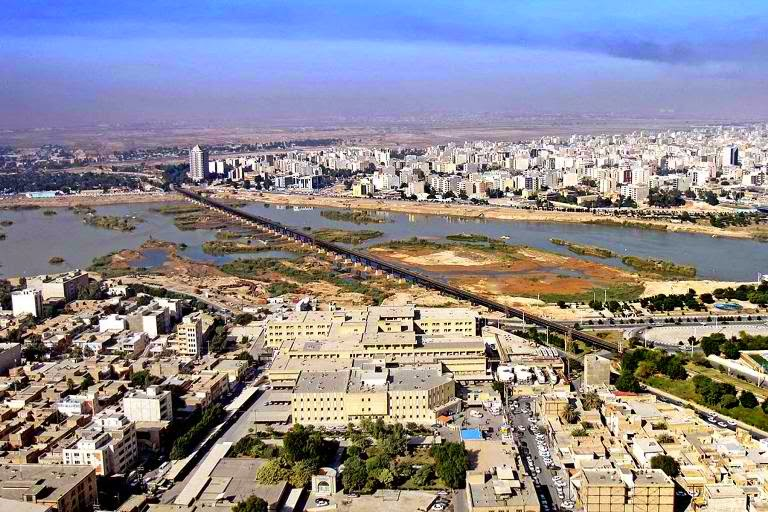 Ahvaz, Iran - polluted city