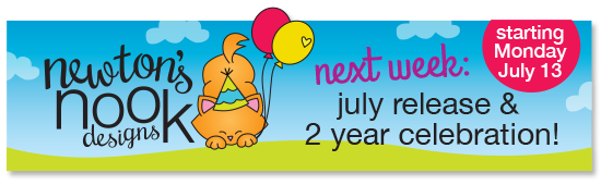 Newton's Nook Designs | 2 year celebration