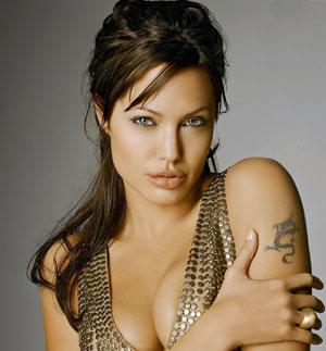 Angelina Jolie - tan sexy a sus 36 años