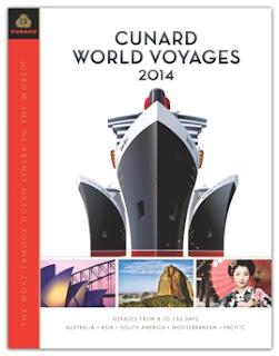 Cunard Line 2014 World Cruise Brochure