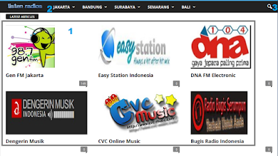 Cara Mendengarkan Radio Streaming di PC/komputer