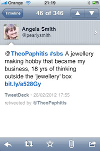 My TheoPaphitis #sbs win on twitter