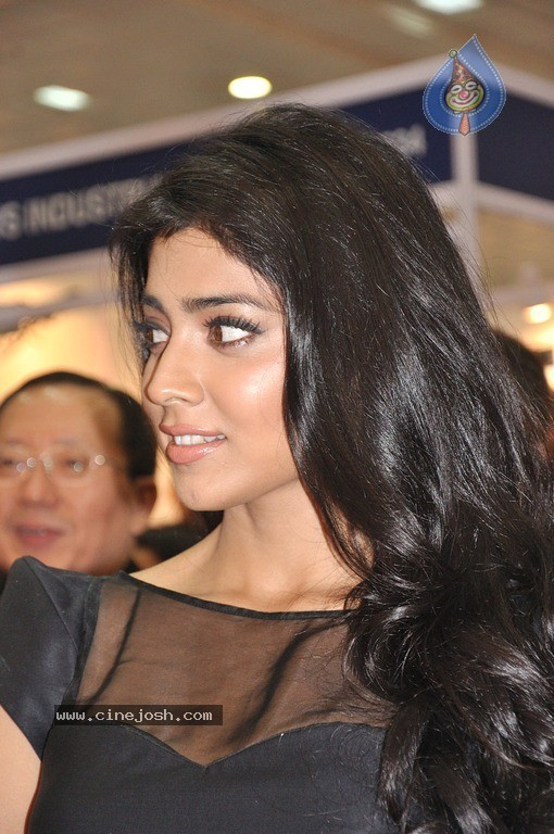 Shriya Saran  - Shriya Saran Latest in Black Dress