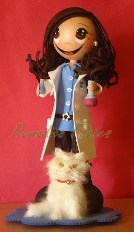 Química Manuela y su gato