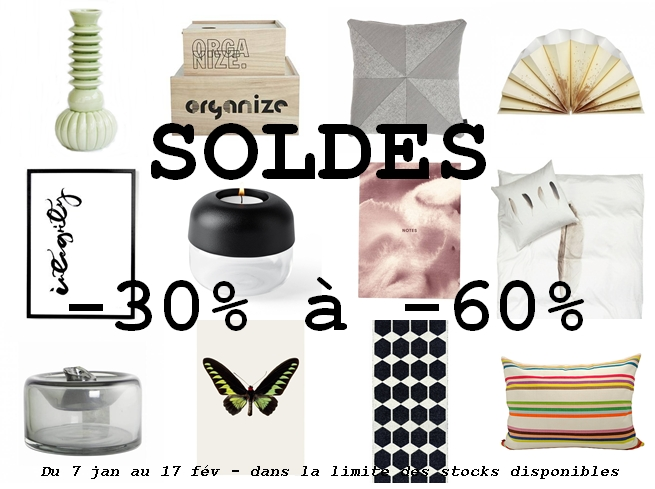 Soldes d'hiver! Winter sales!