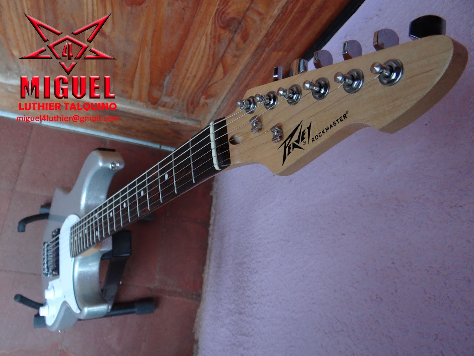 Luthier miguel4 talca guitarra electrica peavey for Luthier guitarra electrica