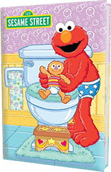 Elmo Bye Bye Diapers Personalized Kids Book