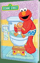 Elmo Bye Bye Diapers Personalized Kids Book