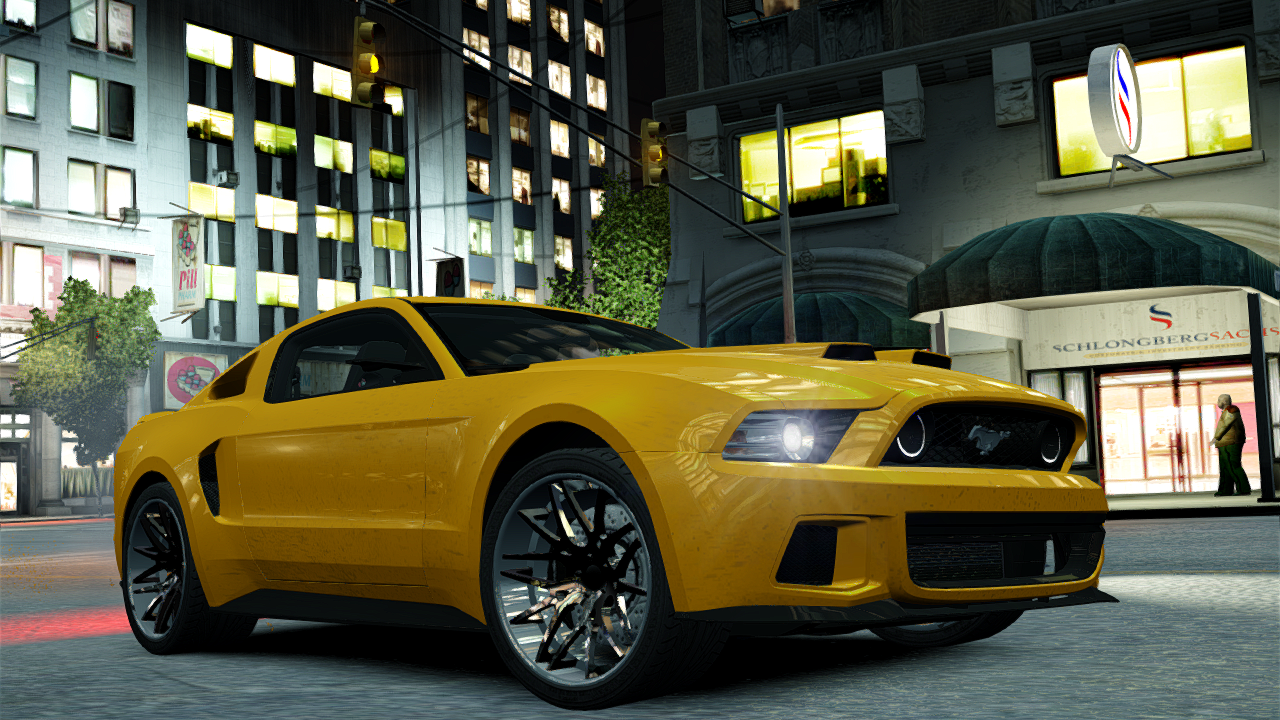Ford mustang shelby gt500 2013 need for speed edition preview screenshots coming soon