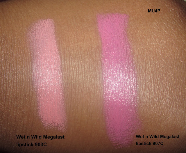 Wet n Wild Mega last Lip Color Lipstick Swatches