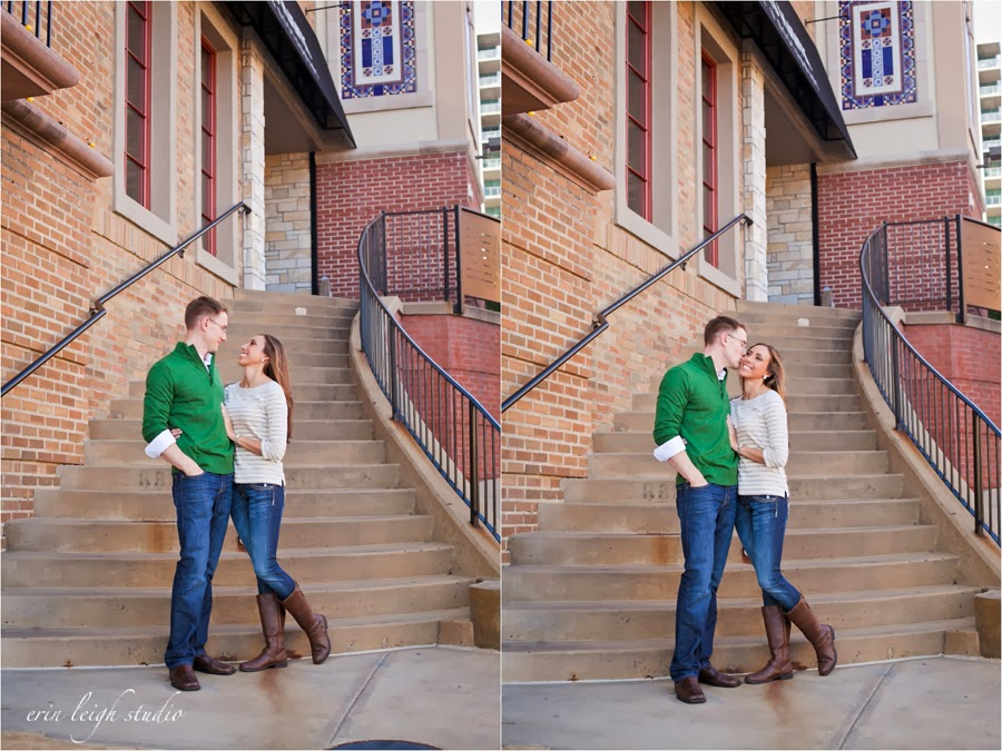 Engagement Photos Country Club Plaza