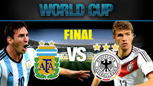 Argentina Vs Jerman Final Piala Dunia FIFA 2014
