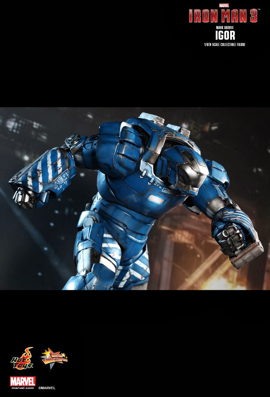 Stormtrooper Iron Man Mk 38 Igor Hottoys