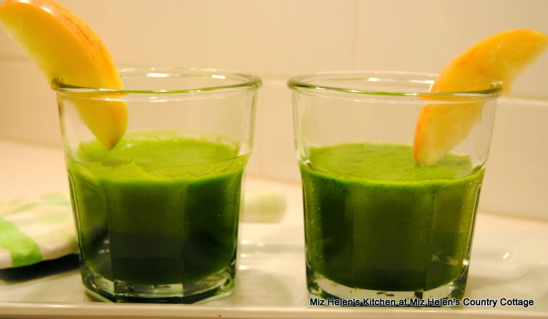 Pickled Tabasco Juice with Spinach and Apple, 2 servings  at Miz Helen's Country Cottage