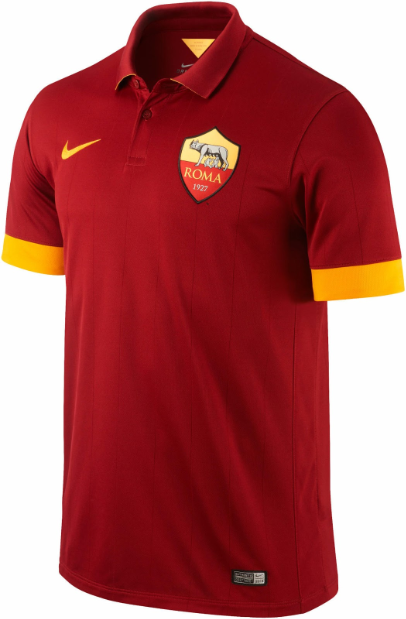 New AS Roma Home Kit 14-15- Nike Roma Home Jersey
