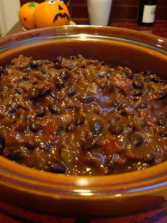 Recipe: Vegetarian Black bean chili