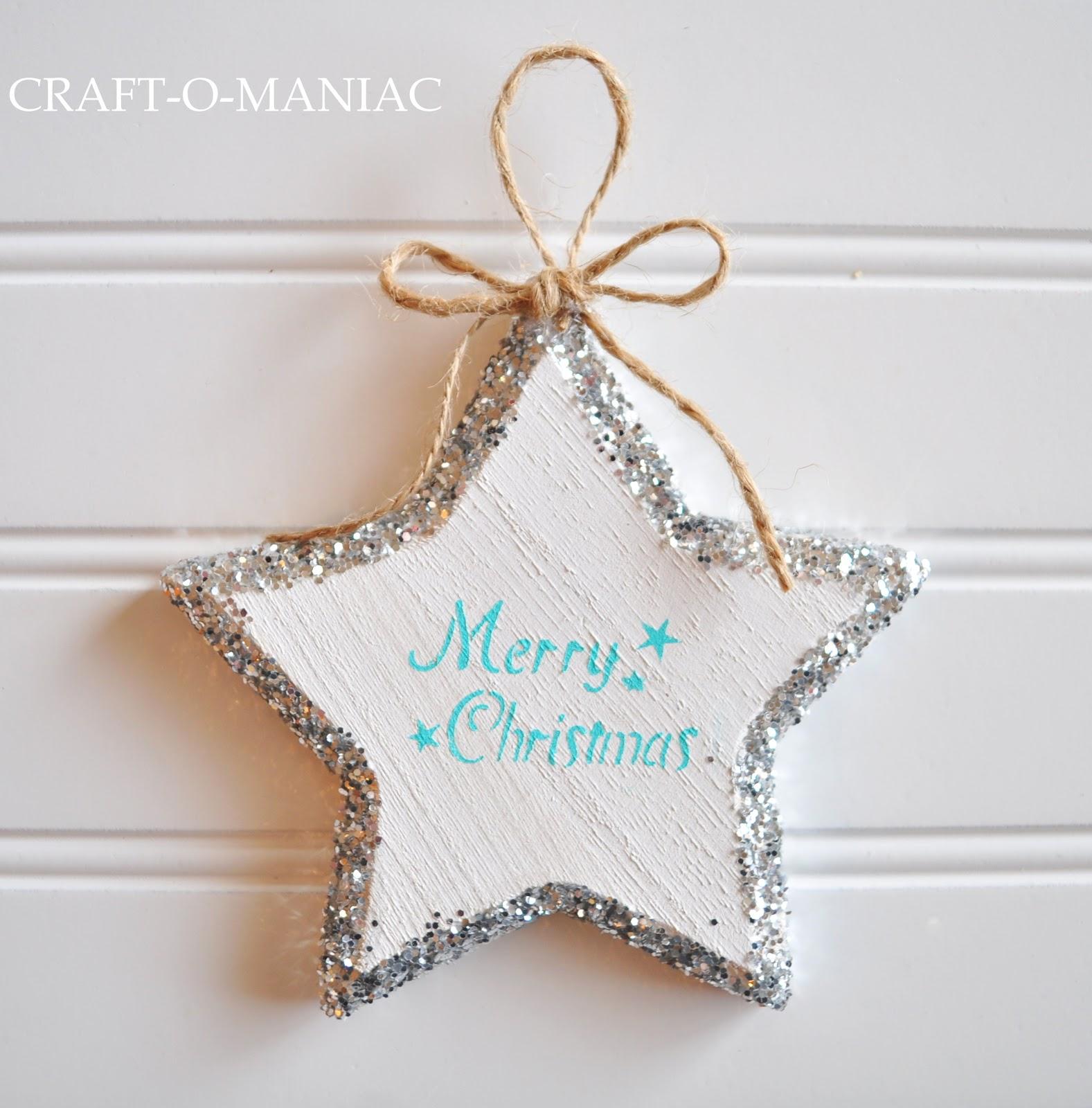 Homemade Christmas Star Ornament: DIY Star Christmas Ornament