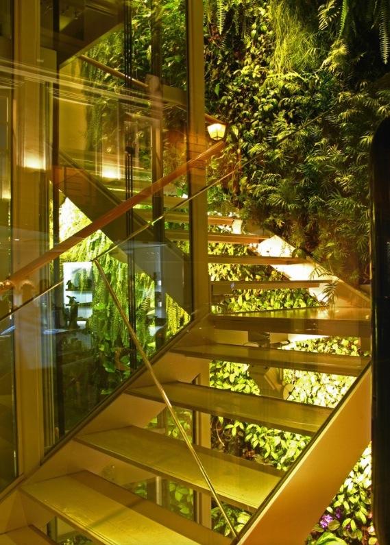 fotos jardins interiores : fotos jardins interiores:Ustedes que opinan? Too much? o se animarían a experimentarlo en sus