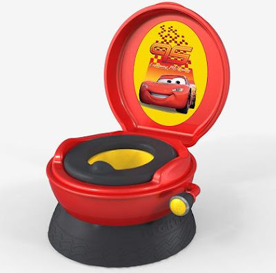The First Years Disney Pixar Cars Potty was the worse potty chair for our son