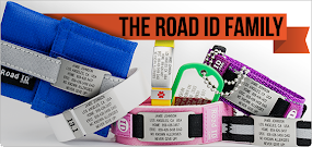 Road ID/Medic Alert Bands *I wear one of these every day*