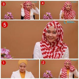 Tutorial Hijab Ini Simple,Cepat dan Praktis