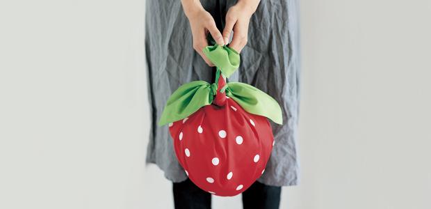 Strawberry furoshiki