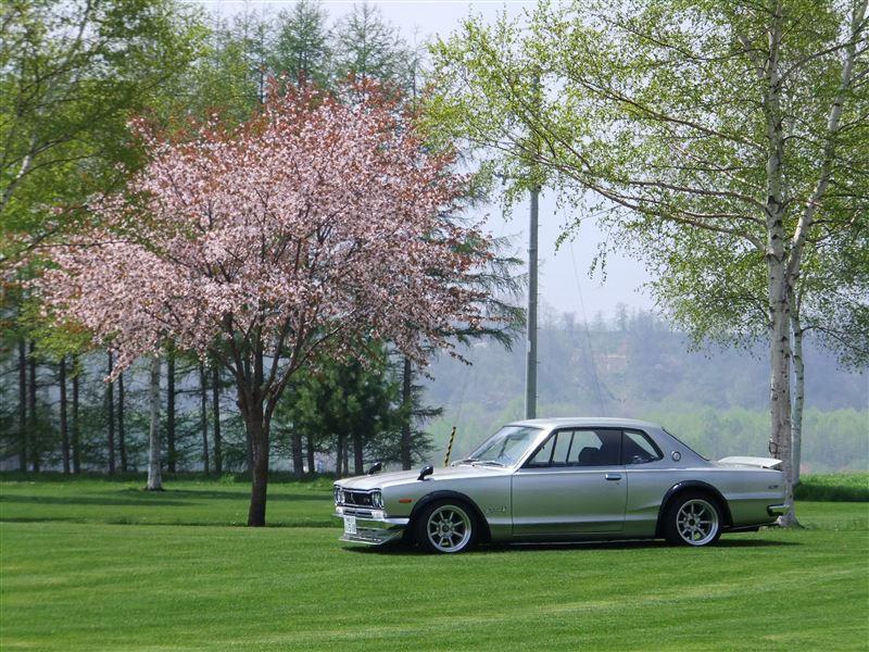 Nissan Skyline GT-R, KPGC10, Hakosuka, samochód z dusza, sportowy klasyk, japońska motoryzacja, pasja do motoryzacji, kultowe auto, JDM, R6, RWD, klasyczne coupe, piękny