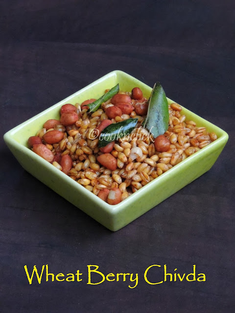 Wheat Berry Chivda