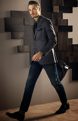 Massimo Dutti hombre otoño invierno 2013 2014 americana