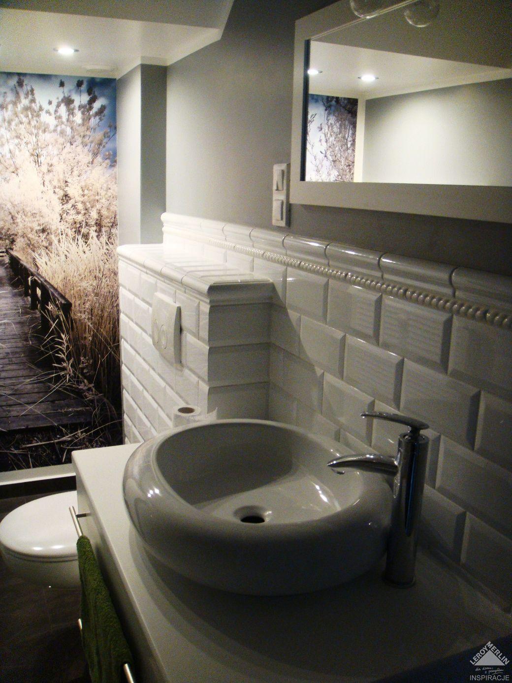 Wnętrza Nazumi Płytki Ala Cegła W łazience