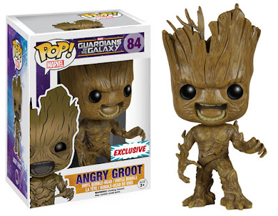 Fan Expo Dallas Comic Con Exclusive Angry Groot Guardians of the Galaxy Pop! Marvel Vinyl Figure by Funko
