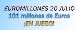 peña para euromillones del 20 de julio