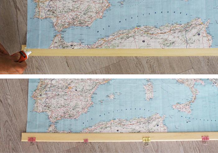 diy Mapa de escuela