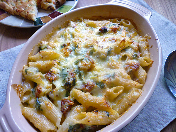 Creamy Leek and Bacon Pasta Bake Recipe