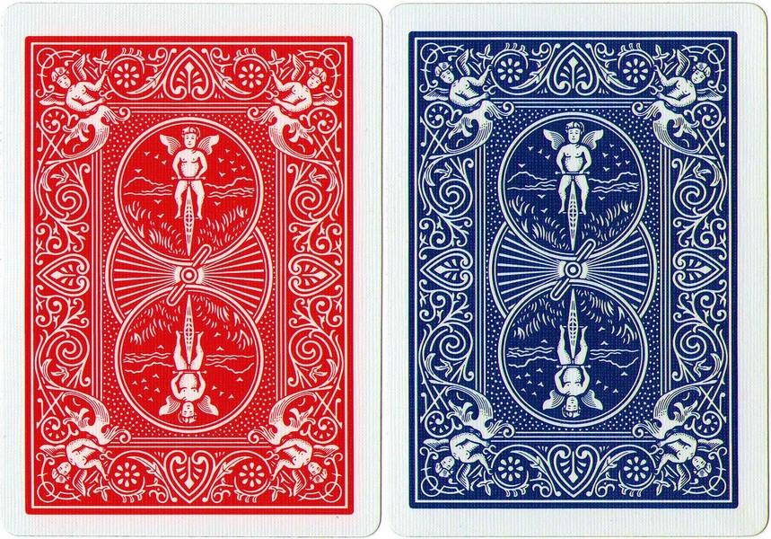 หลังไพ่ ไพ่ป๊อก Playing Cards ทำนาย