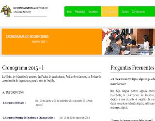 Ingresantes Examen UNT 2014 sábado 20 de Setiembre Modalidad Selección Ordinaria