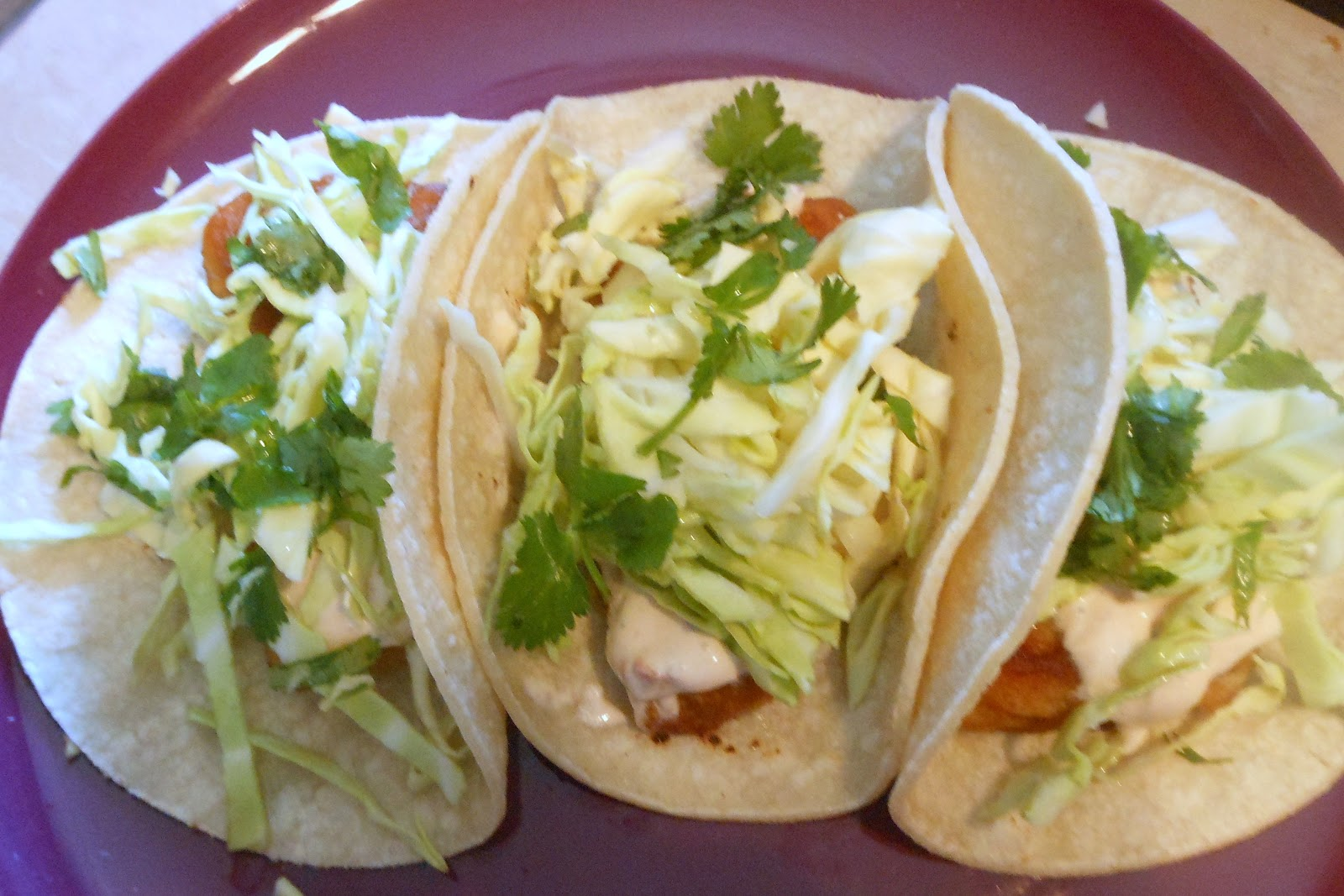Jen loves life fish tacos with chipotle white sauce for White sauce for fish