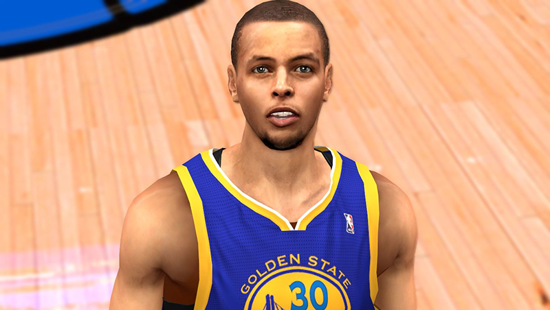 NBA 2K14 Stephen Curry Face Mod