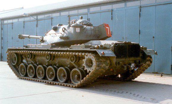 Tank Medium M48A2C Jerman