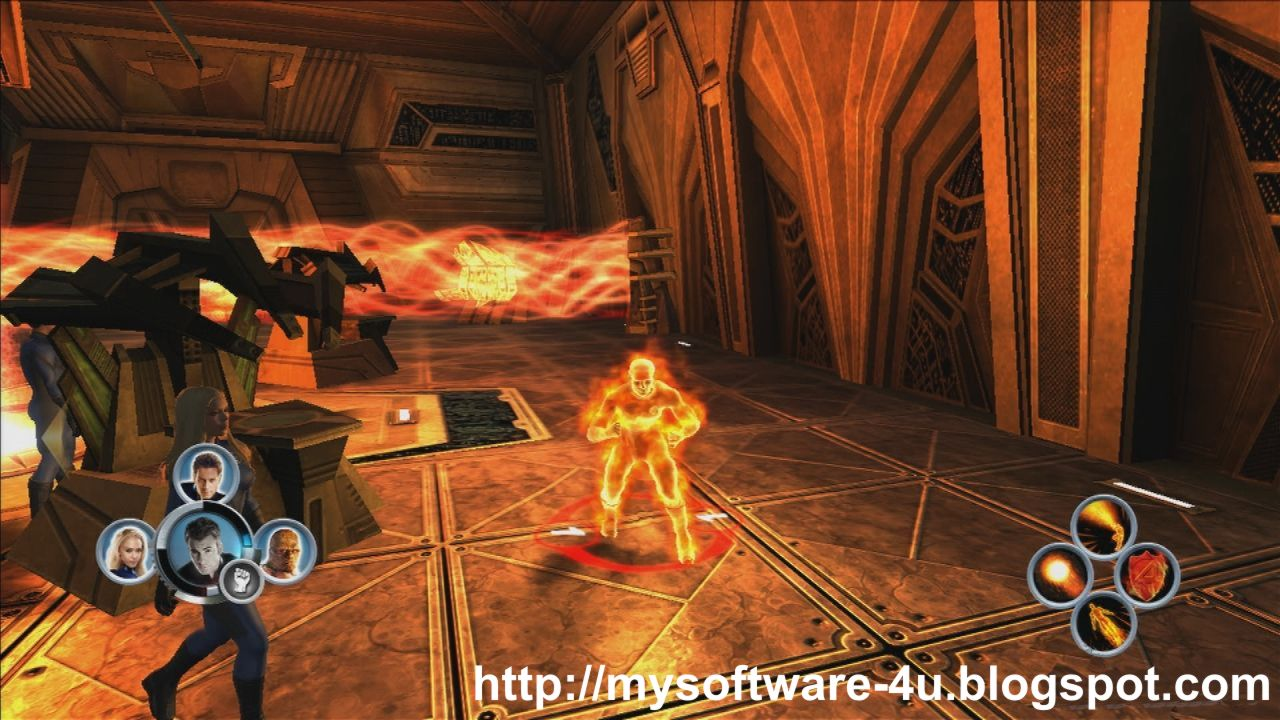 fantastic four the game online