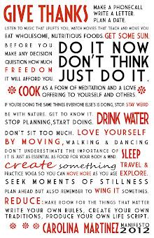 My 2012 Manifesto